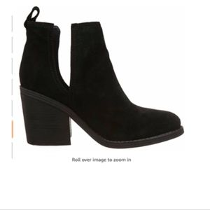 Steve Madden Women's SHARINI Boot- Black Suede